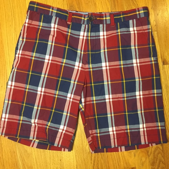 Tommy Hilfiger Other - Tommy Hilfiger Plaid Shorts. Size 38. 100% Cotton